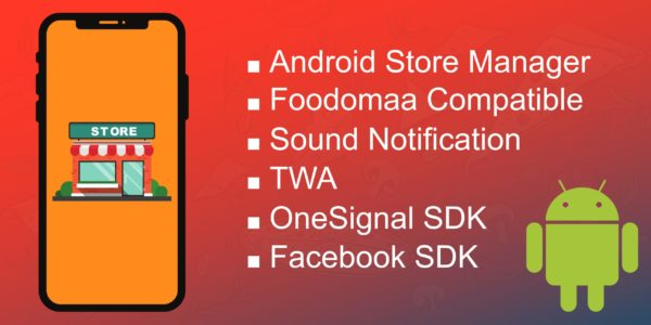 Foodomaa Store Manager Android App